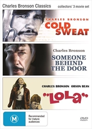 Charles Bronson | Triple Pack - Cold Sweat, Someone Behind The Door, Lola