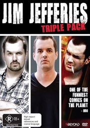Jim Jefferies - Alcoholocaust / Fully Functional / I Swear To God and Contraband | Triple Pack
