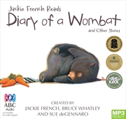 Jackie French Reads: Diary Of A Wombat