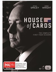 House Of Cards - Season 1-4 | Boxset