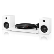 Vinyl Bluetooth Record Player Turntable with Speakers