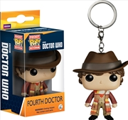 Doctor Who 4th Dr Pop Keychain