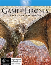 Game Of Thrones - Season 1-6 | Boxset