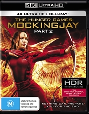 Hunger Games - Mockingjay, The - Part 2 | Blu-ray + UHD