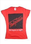 Fangtasia Red Female T-Shirt L (True Blood)