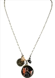 Necklace Single Chain Katniss District 12 (Hunger Games)