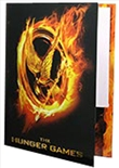 Folder Burning Mockingjay Poster (Hunger Games)