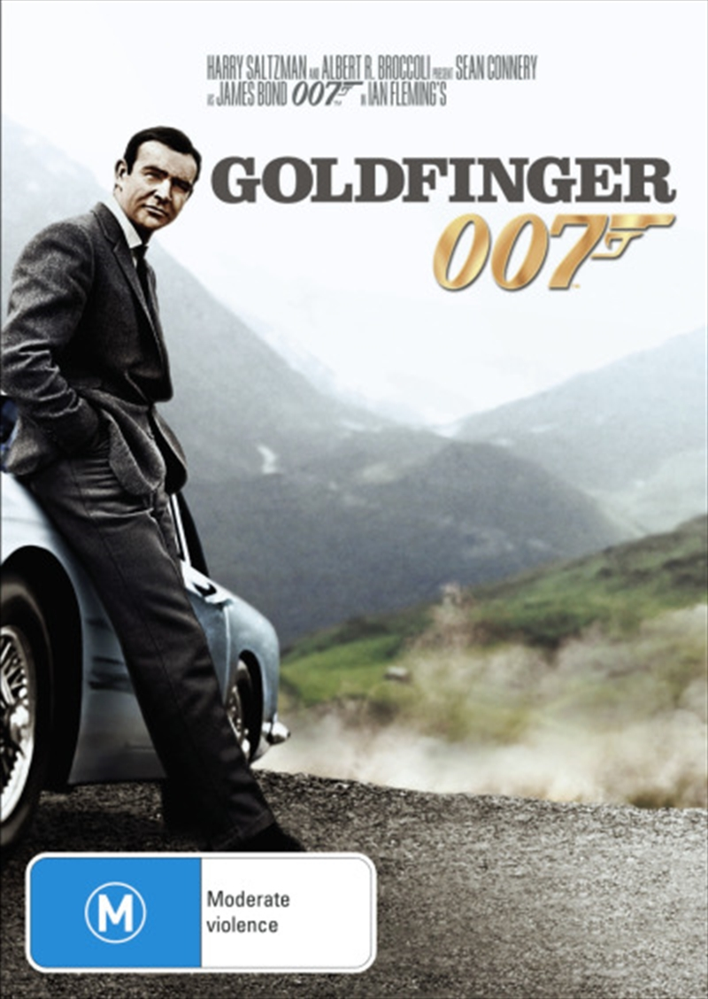 Buy Goldfinger 007 On Dvd Sanity