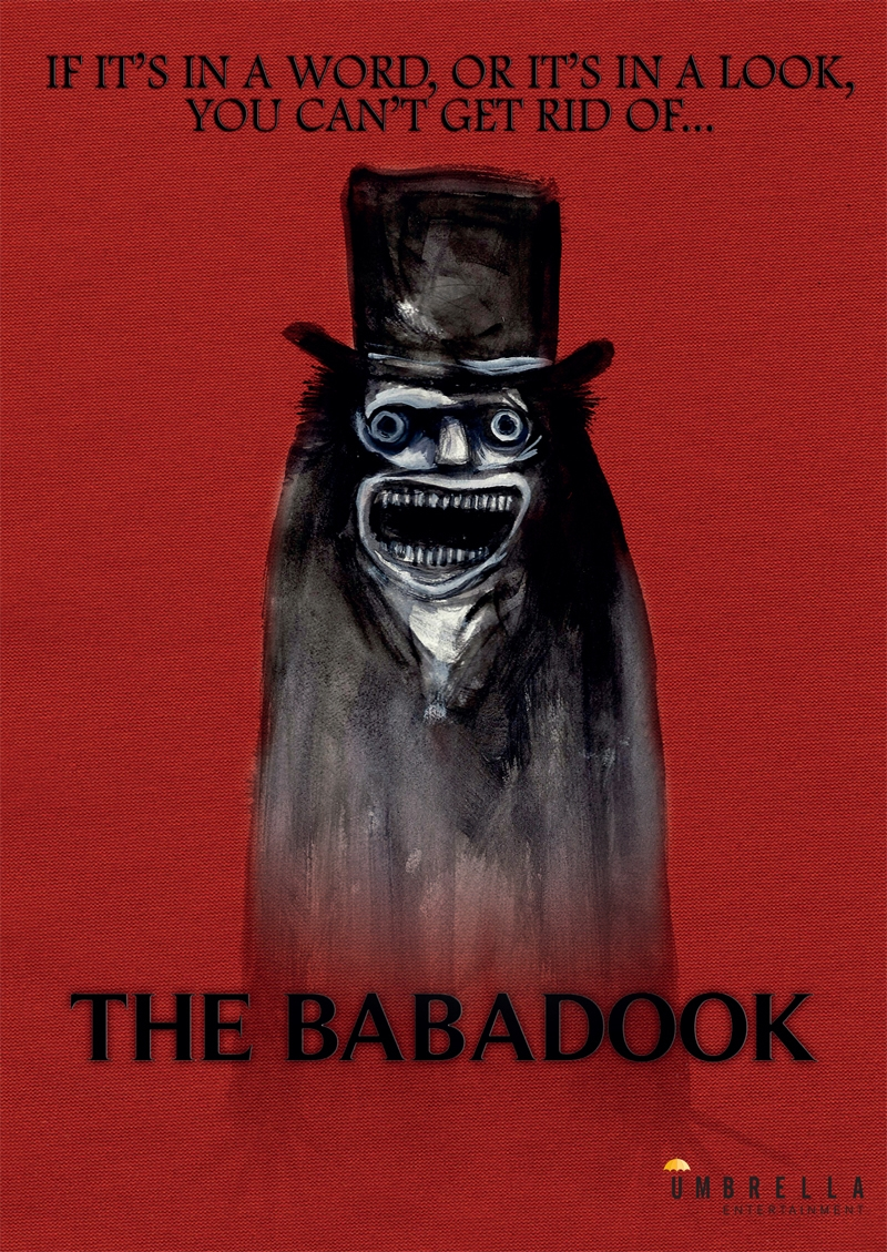 Babadook Exclusive Slipcase Horror Dvd Sanity