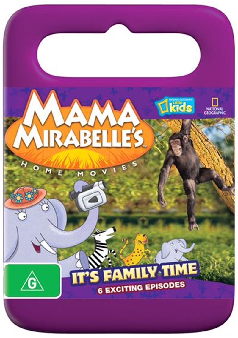 mama mirabelle 39 s home movies it 39 s family time abc dvd. Black Bedroom Furniture Sets. Home Design Ideas