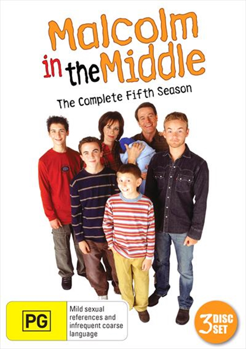 Buy Malcolm In The Middle Season 5 On Dvd Sanity Online
