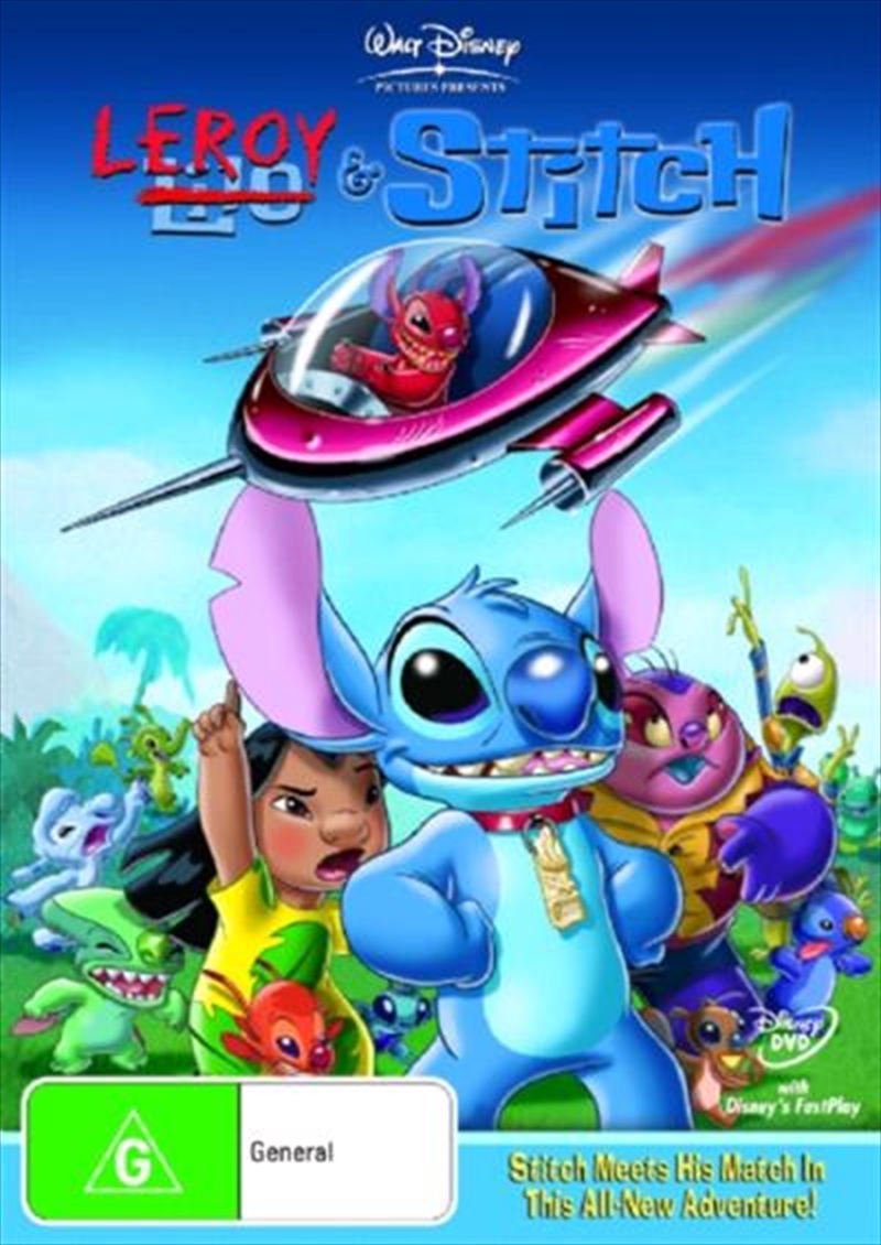 Buy Leroy And Stitch On Dvd Sanity