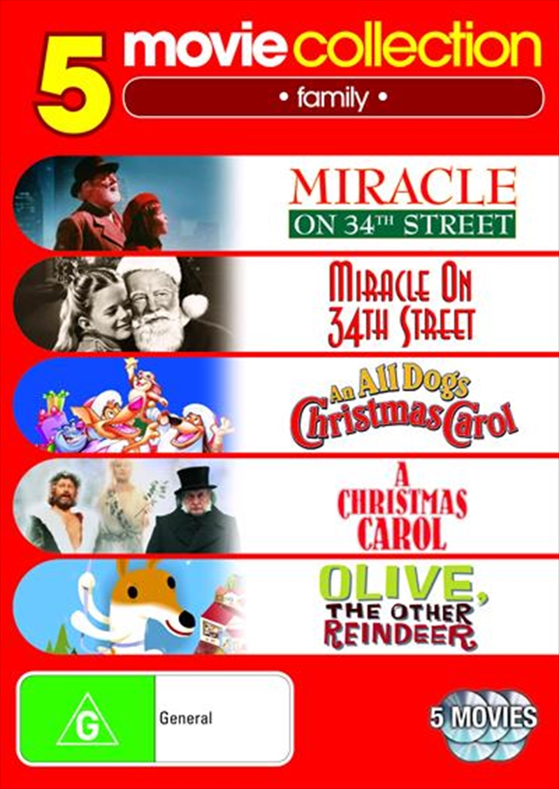 Miracle On 34th St 1947 Miracle On 34th St 1994 An