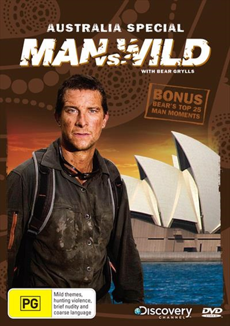 Man Vs Wild Australia Special Discovery Channel Dvd
