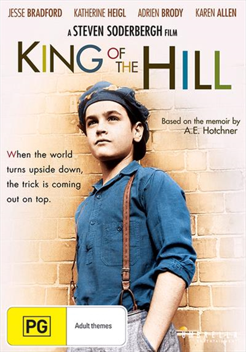 an analysis of the movie king of the hill by steven soderbergh Steven soderbergh: yeah this is the script he had for a while, and that we talked about doing after king of the hill but we sort of let it drop after out of sight, i called him up again: i really wanted to go back to work immediately, but i wanted to do something small where i could continue to experiment a little with narrative.