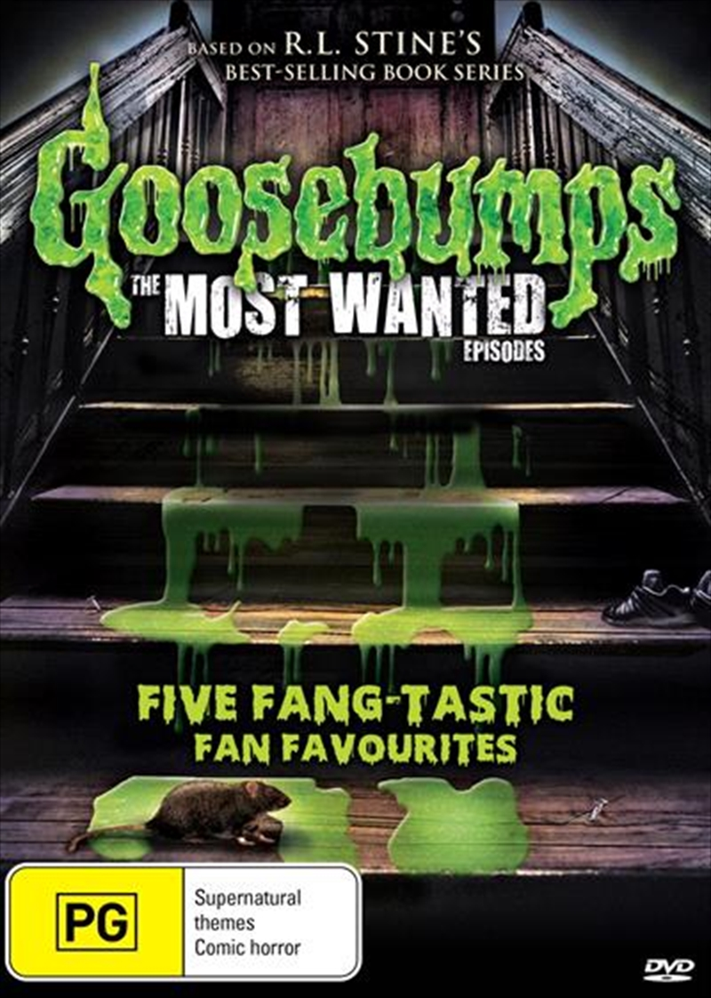 Buy Goosebumps The Most Wanted Episodes On Dvd Sanity