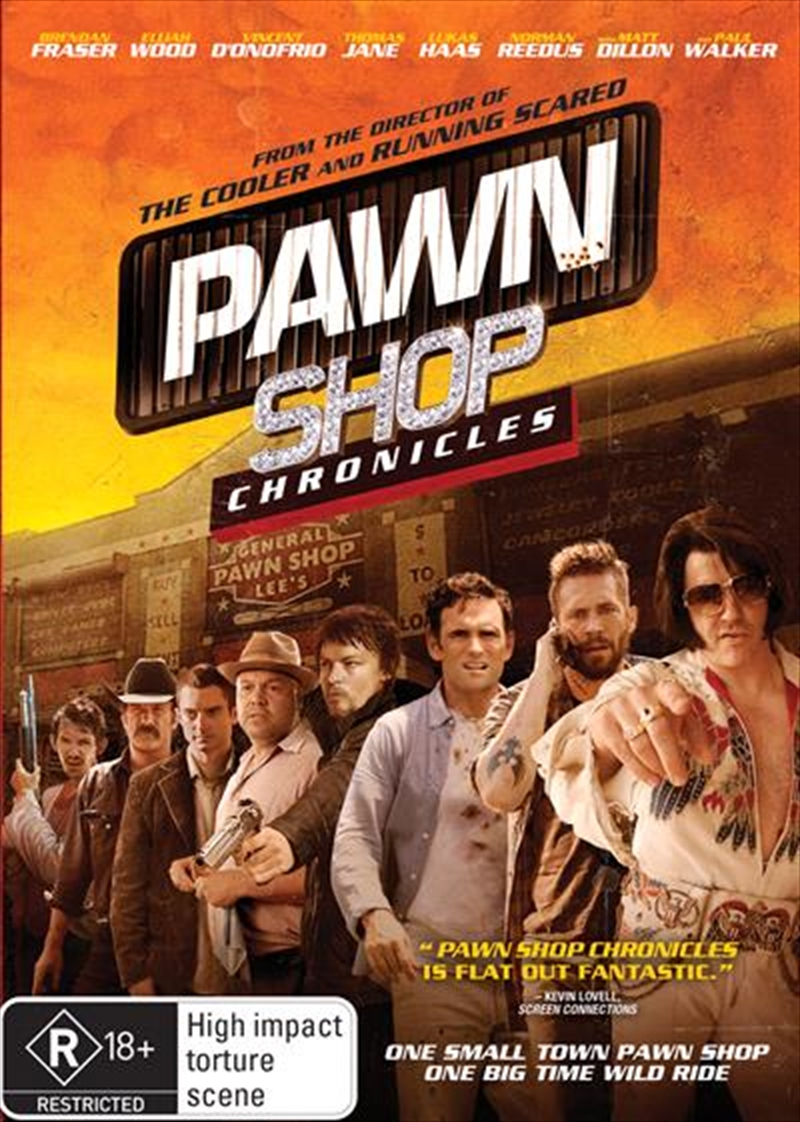 Pawn Shop Chronicles Comedy Dvd Sanity