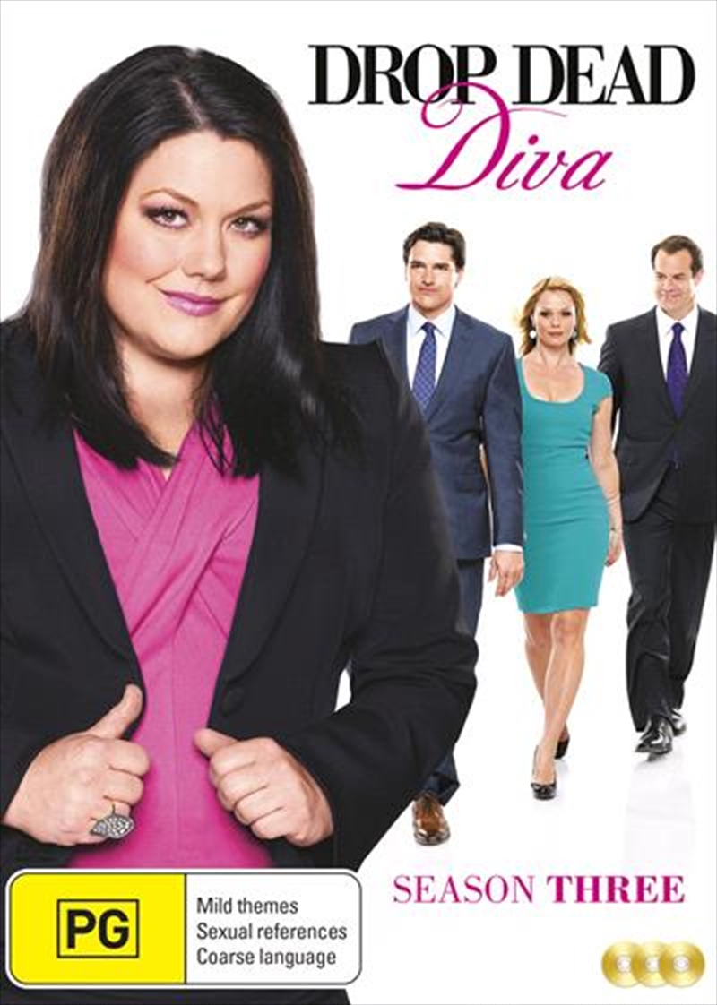 Buy drop dead diva season 3 on dvd sanity online - Drop dead diva dvd ...
