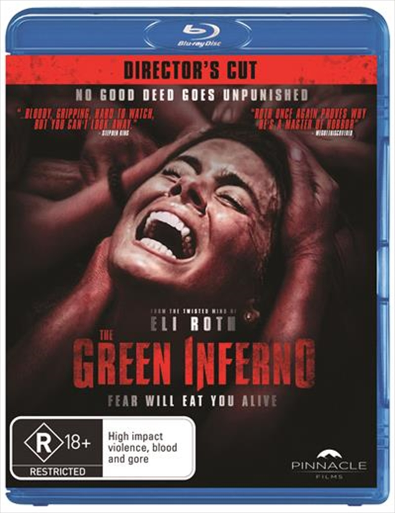 The green inferno dvd release date