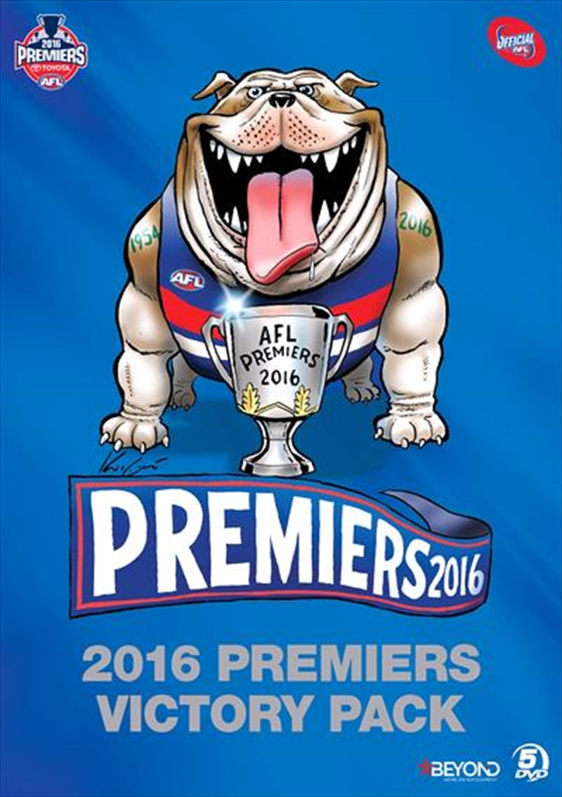 Buy Afl Premiers 2016 Western Bulldogs Victory Pack Sanity
