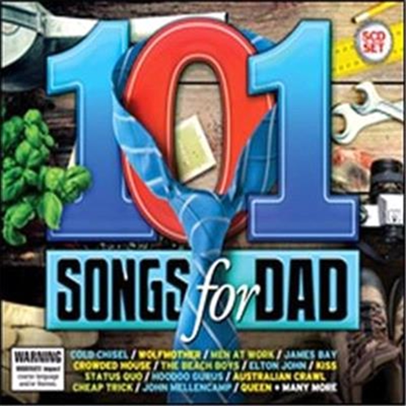 101 Songs For Dad By Various Artists, Various, CD