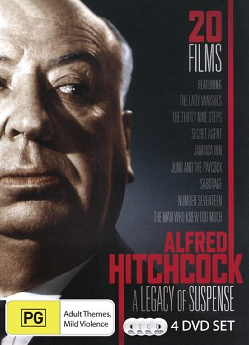 """a description of alfred hitchcock as the master of suspense A list of the complete works of the master of suspense hitchcock once dryly noted that, """"even my failures make money and become classics a year after i make them."""