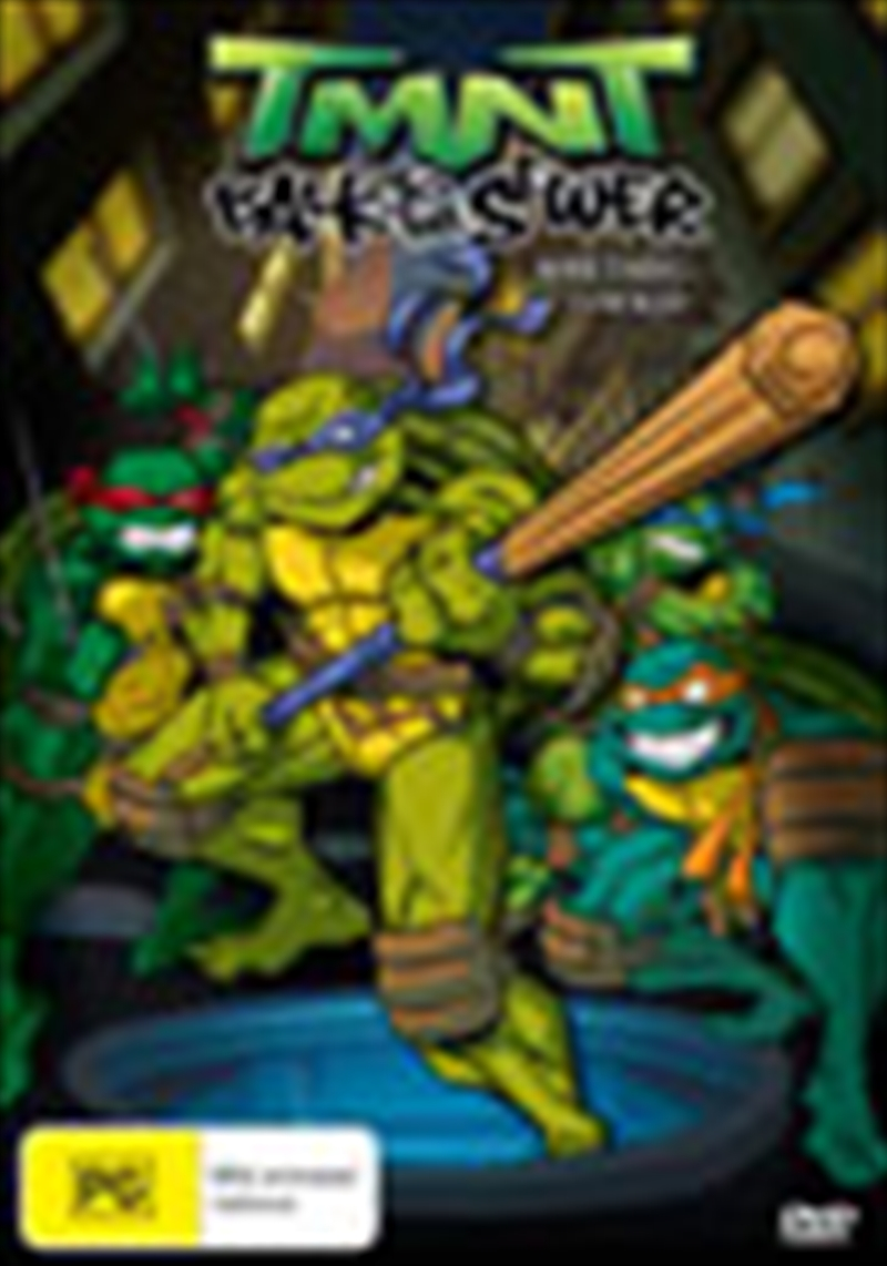 Tmnt Back To The Sewer Vol2 Animated Dvd Sanity