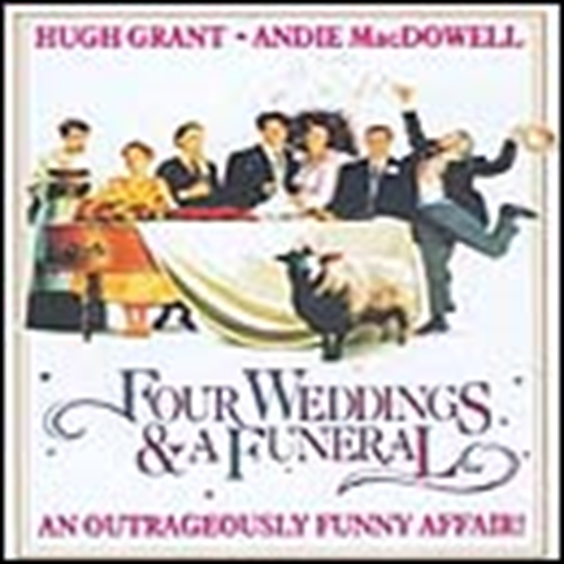Four Weddings & A Funeral by Soundtrack, Soundtrack, CD ...