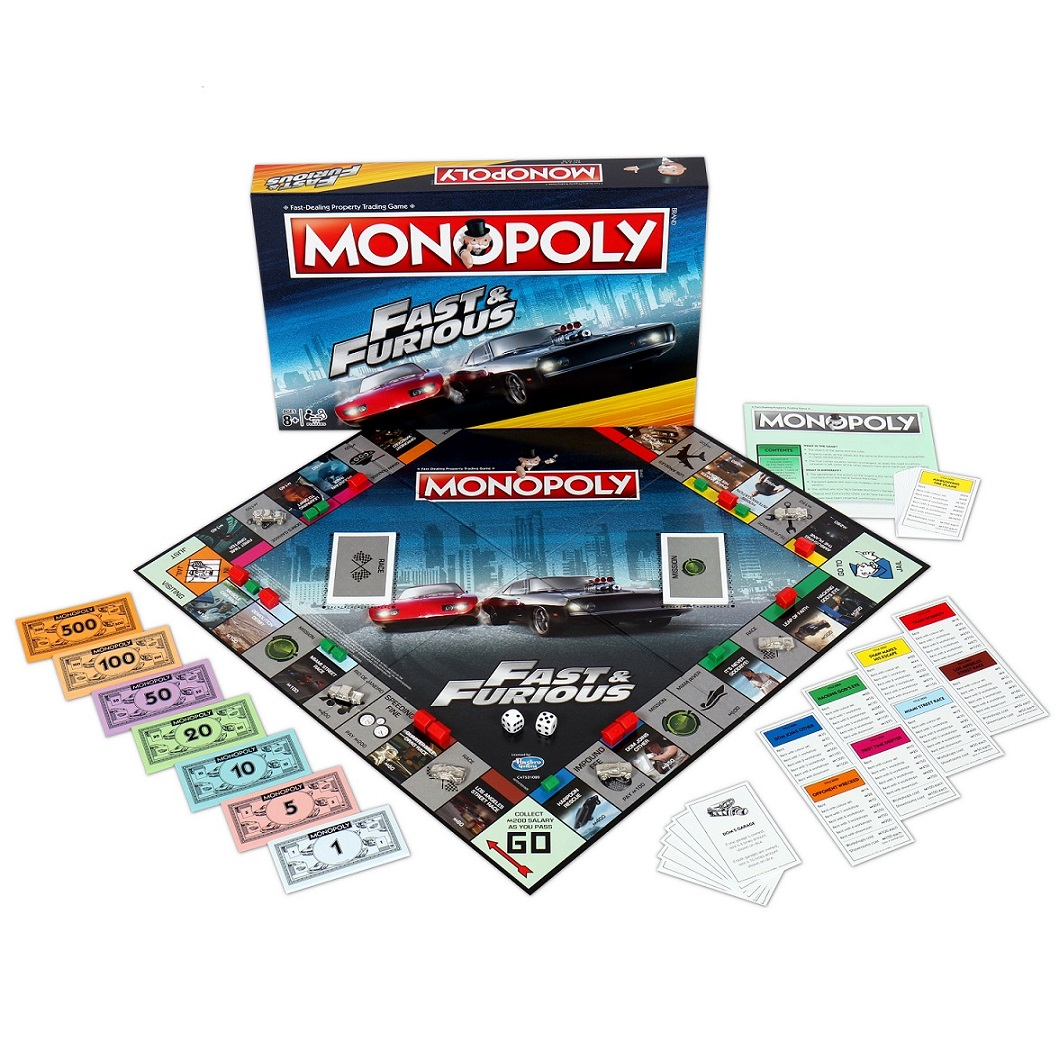 Buy Fast And Furious Monopoly now!