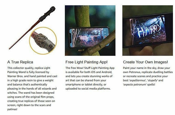 Buy Harry Potter - Light Painting Wand now!