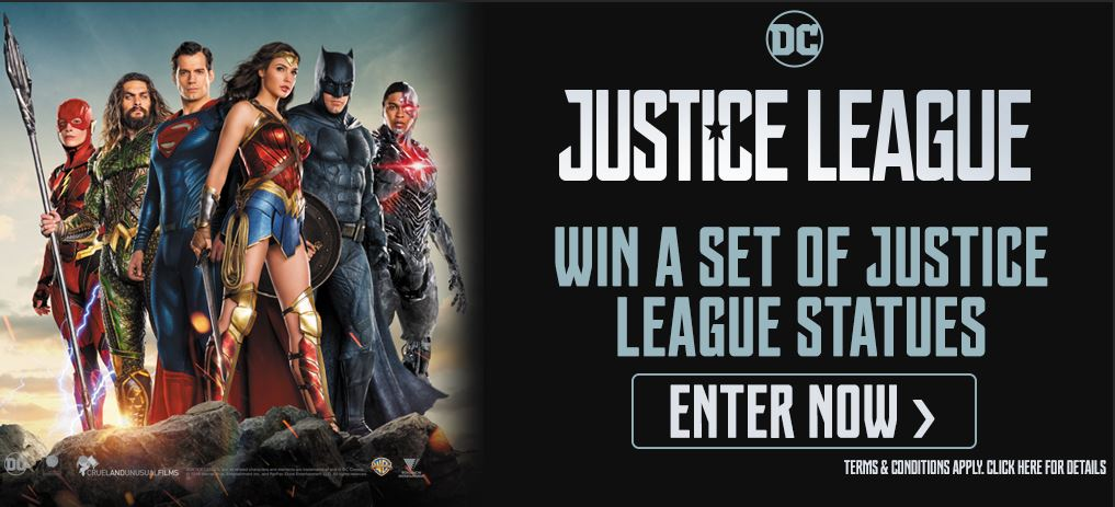 Pre-order Justice League & Click Here To Enter!