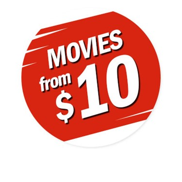 Movies from $10