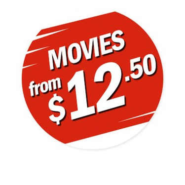 Movies from $12.50