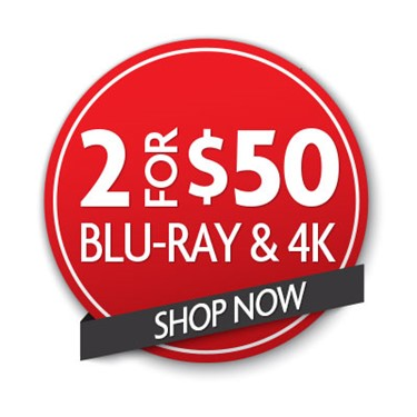 Buy 2 Blu-ray or 4K Movies For $50