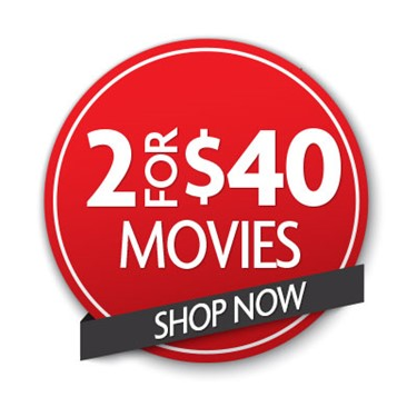 Buy 2 Movies For $40
