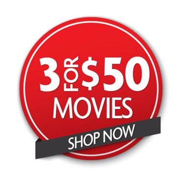 Buy 3 Movies For $50