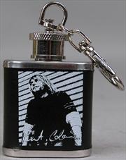 Kurt Cobain Flask Keychain | Accessories