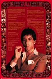Scarface Quotes Poster | Merchandise