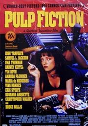 Pulp Fiction One Sheet Poster | Merchandise