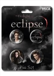 Edward & Bella Pins 4pk | Merchandise