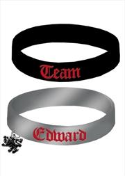 Team Edward Rubber Bracelet   Merchandise