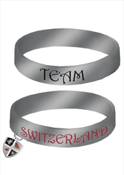 Team Switzerland Rubber Bracelet   Merchandise