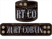 Kurt Cobain - Leather Wristband | Merchandise