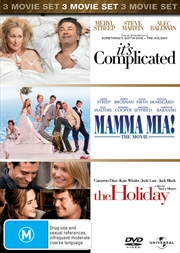 It's Complicated / Mamma Mia / The Holiday