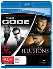Code / Lies And Illusions   Blu-ray
