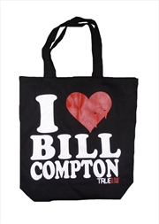 I Love Bill Compton Tote Bag