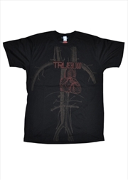 True Blood - Heart Logo Male T-Shirt XXL | Merchandise