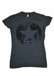 Distressed Charcoal Female Xl | Merchandise