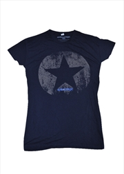 Distressed Navy Female Xl | Merchandise