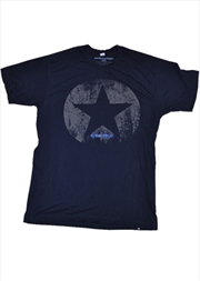 Distressed Star Navy Male M | Merchandise